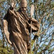 Stock Photo: Statue of St. Adalbert, Mikolow, Poland