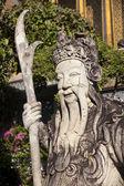 Chinese statue guard — Stock Photo