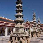 Pagoda at Wat Pho - Bangkok — Stock Photo #39930439