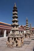 Pagoda at Wat Pho - Bangkok — Stock Photo