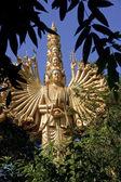 Multi armed and multi faces buddha — Zdjęcie stockowe