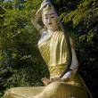 Stock Photo: Golden statue PhrThorani