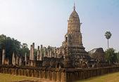 Wat in Si Satchanalai - Chaliang Historical Park — Φωτογραφία Αρχείου