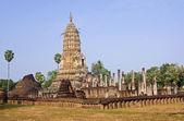 Temple Historical Park in Si Satchanalai - Chaliang — Stockfoto