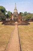 Temple Historical Park in Si Satchanalai - Chaliang — Stock Photo