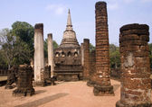 Temple Historical Park in Si Satchanalai - Chaliang — Stockfoto
