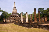 Temple Historical Park in Si Satchanalai - Chaliang — Stock Photo