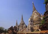 Wat Phra Si Sanphet in Ayutthaya — Stock Photo