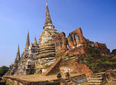 Wat Phra Si Sanphet in Ayutthaya — Stock Photo