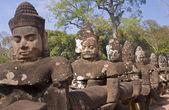 Angkor Thom Gate - Cambodgia  — Stock Photo