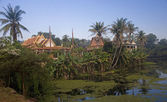 Wat Bakong lying near Siem Rap — Stock Photo
