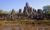 Bayon in center Angkor Wat - Cambodia — Stock Photo