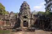 Ingången till templet preah khan — Stockfoto