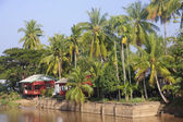 Cottage on the River Mekong in Don Khon — Stock Photo