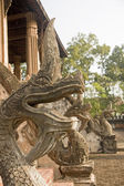 Decoration in the Haw Phra Kaew  - Vientiane — Stock Photo