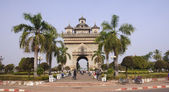 Monument Patuxai in Vientiane — ストック写真