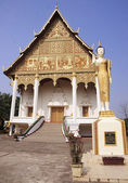 Wat That Luang Neua in Vientiane — Foto de Stock