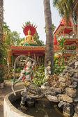 Park in temple - Vientiane — Stockfoto