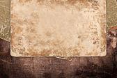 Stare rozmyciem papieru na drewno — Zdjęcie stockowe