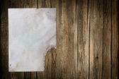 Damaged old paper sheet — Stock Photo