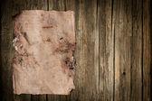 Damaged old paper sheet — Stock Photo