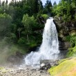 Stock Photo: Waterfall Steinsdalsfossen, Norway