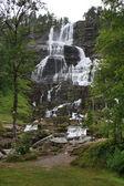 Stepped Falls Tvindefossen, Norway — Stock Photo