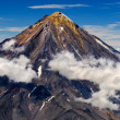 Koryaksky  volcano on the Kamchatka Peninsula, Russia. — Stock Photo