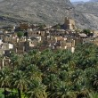 The village Bilad Sayt, sultanate Oman - Foto de Stock