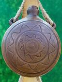Cerâmica está à venda em um mercado ao ar livre — Foto Stock