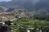 The village Bilad Sayt, sultanate Oman — Stockfoto