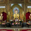 Dharmikarama burmese temple on island Penang, Malaysia — Stock Photo #12886936