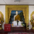 Dharmikarama burmese temple on island Penang, Malaysia — Stock Photo