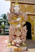 Dharmikarama burmese temple on island Penang, Malaysia — Stok fotoğraf