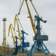 Port cranes — Stock Photo #13721712