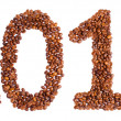 New Year 2013 made of beans coffee — Stock Photo #13722124
