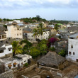 Lamu Town on Lamu  Island in Kenya. - Stock Photo