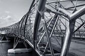 The Helix Bridge — Stock Photo