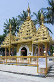 Dharmikarama burmese temple, Malaysia — Stock Photo