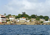 Lamu Town on Lamu Island in Kenya. — Stock Photo
