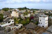 Lamu Town on Lamu Island in Kenya. — Stock Photo