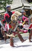 KALIURANG, JAVA, INDONESIA - JANUARY 16: Javanese unidentified — Stock Photo