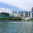 Esplanade Theater in Singapore. — Stock Photo