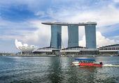 Marina Bay Sands complex — Stock Photo
