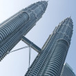 Постер, плакат: The Petronas Twin Towers