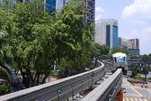 クアラルンプール、マレーシアのモノレール. — ストック写真