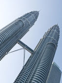 The Petronas Twin Towers — Stock Photo