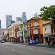 Singapore's Chinatown - Stock Photo