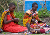 Maasai women — Stock Photo