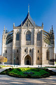 Cathedral of St. Barbara in Kutna Hora in the Czech Republic — Stock Photo